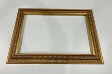 Antique style picture frame - Gold reverse design - Frame size 850 x 600