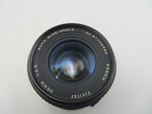 Vivitar 35mm F2.5 Auto Wide Angle Minolta MD Mount Lens - SLR/Mirrorless Cameras