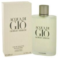 Giorgio Armani Acqua Di Gio 6.7 Oz Eau De Toilette Cologne Spray