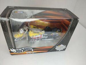New 2002 Hot Wheels Racing NASCAR Thunder Rides #36 M&Ms 1:18 Motorcycle NIP