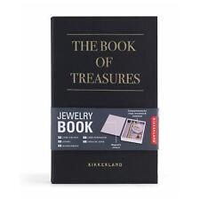 Kikkerland The Book Of Treasures Jewellery Holder Storage Box Travel Book Gift