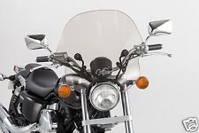 "SMOKE TINTED Slipstreamer Viper Motorcycle Windshield SS-10-T fits: 1-1/4"" bars"