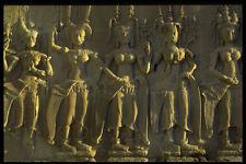 466082 Angkor Wat Detail Apsara Dancers Thailand A4 Photo Print