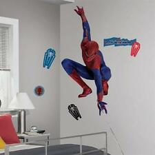 . AMAZING SPIDERMAN MOVIE WEBSLINGER GIANT WALL STICKER DECAL. OFFICIAL ITEM