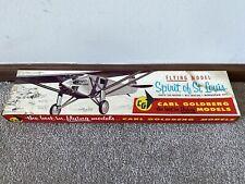 Excellent Carl Goldberg Models Spirit of St. Louis RC Balsa Wood Airplane Kit
