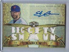 SHAUN MARCUM 2013 Topps Triple Threads Relic Gold Autograph #6/9 #SMA2  (B5096)