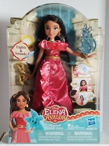 Hasbro Disney ELENA OF AVALOR Magical Guide Zuzo Lights & Sounds FACTORY SEALED!