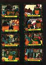 1989 Teenage Mutant Ninja Turtles 2 Set Complete with 88 Cards & 11 Stickers