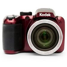 NEW Kodak PIXPRO Bridge Digital Camera 16MP 40x Optical Zoom ISO 3200 HDR Red