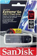 SanDisk 128 GB CZ800 Extreme GO USB 3.1 flash Thumb Flash Drive stick 200MB 128G