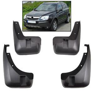 4x Front Rear Mud Flaps Splash Guard Mudguards For Opel Vauxhall Antara
