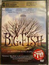 Big Fish Dvd Preowned Blockbuster Video Rare Vintage Ewan Mcgregor Albert Finney