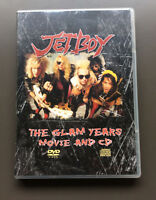 JETBOY The Glam Years Movie And CD CD & DVD Combo Like NEW Glam Rock Sam Yaffa