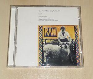 Paul & Linda McCartney - Ram - CD Wings/Beatles/Lennon/1993 McCartney Collection