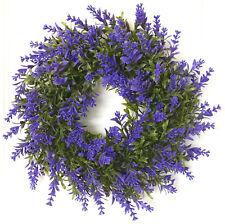 Türkranz Lavendel lila 32cm Sommerkranz Tischkranz Lavendelkranz Kranz Lavendel