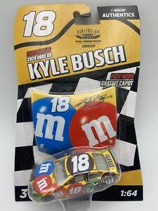 NASCAR Authentics Wave 9 Darlington M&Ms Kyle Busch 1/64 Scale FREE SHIPPING