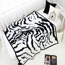 Korean Fashionable Blanket: Zebra pattern