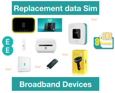 EE Mobile broadband data loaded Sim card for all EE internet devices 100GB