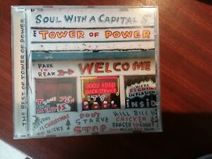 Tower of Power - Soul With a Capital 'S' - UK CD album 2002