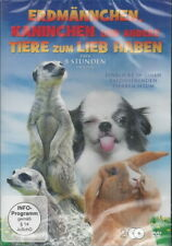 2 DVD + Meerkats Rabbits and other animals for Love + over 8 hours