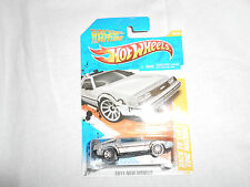 HOT WHEELS 2011 New Models Back to the Future Time Machine 18/50 BTTF bin(10)