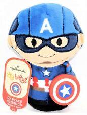 Hallmark Marvel Itty Bittys Bitty Second in Series Captain America Plush Figure!