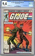 G.I. Joe, A Real American Hero   #7  CGC   9.4   NM  White pages  1/83