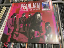 PEARL JAM LP TEN NAKED THE OUTTAKES BLUE VINYL NUMBERED 86/100