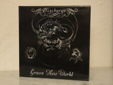 DISCHARGE  Grave New World JAPAN PROMO BOX Hear Nothing Never Again Why DISORDER