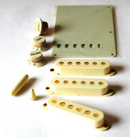 Aged Parts Set Mint Green Pickup Cover Knobs GuitarSlinger Parts Fits To Strat ®