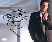 """KYLE MACLACHLAN Authentic Signed """"Agent Cooper TWIN PEAKS"""" 8x10 Photo (JSA COA)"""