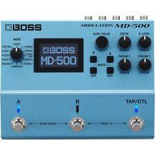BOSS MD-500 Modulation MIDI USB Stereo Buffered True Bypass Guitar Effects Pedal
