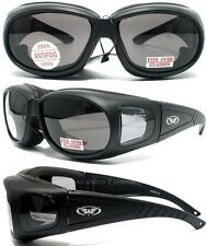 Global Vision Outfitter Smoke Fits Over Most Safety Glasses Sun Padded Z87.1