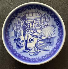 Royal Copenhagen Hans Christian Andersen Plate-Den Standhaftihe Tinsoldat, 3.25�