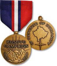 REPLICA Kosovo Campaign Military Medal Pin Decoration Full Size