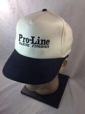 PRO LINE MARINE FINISHES  Snapback Baseball Cap  EUC Boating Offshore Fishing