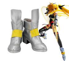 Magical Girl Lyrical Nanoha Takamachi Mahou Shoujo Cosplay Costume Schuhe Shoes