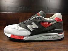 """New Balance M998CPL - USA 998 """"Age of Exploration"""" (Grey / Red) MENS"""