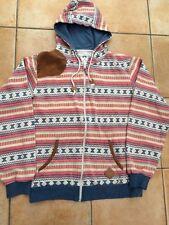 SOUL STAR Mens Aztec Designer Zip Hoodie Sweatshirt Skater Skateboard Street L/G