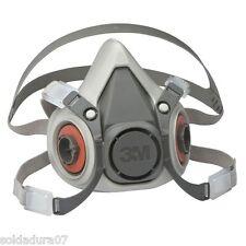 3M MASCARA 6300 + 2 FILTROS 2138  P3R de carbon activado pa vapores de soldadura