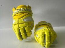 Adidas Dipped FREAK Yellow Lacrosse Gloves Size 12 ( CF5224 )