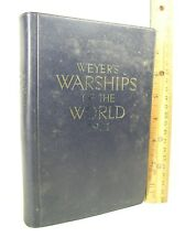 Weyer's Warships of the World 1971 compiled by Gerhard Albrecht