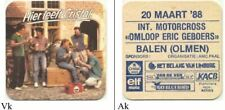 Cristal Alken: rv: Internationale Mototcross Eric Geboers Balen 1988