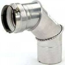 90 Degree Stainless Steel Elbow 3""