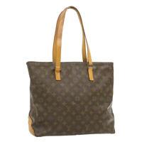LOUIS VUITTON Monogram Cabas Mezzo Tote Bag M51151 LV Auth fm122