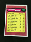 1976 CHICAGO BEARS TEAM CHECKLIST WALTER PAYTON ROOKIE YEAR TOPPS FOOTBALL CARD. rookie card picture