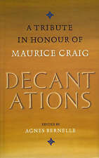 Decantations in Honour of Maurice Craig