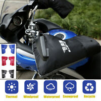 Waterproof Winter Motorcycle  Scooter Handlebar Muffs Gloves Hand Cover   √