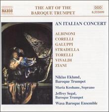 Art of the Baroque Trumpet, Vol. 5: An Italian Concert, New Music
