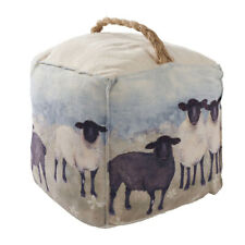Sheep Doorstop Lamb Gift for Home Decor Decorative Accessory Soft Scenic